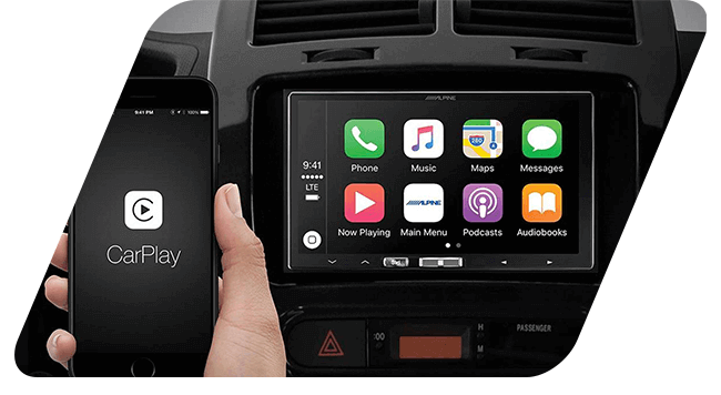 Apple CarPlay touchscreen Installation